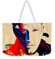 Ben Affleck Collection Weekender Tote Bag by Marvin Blaine