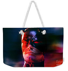 Ben Affleck Daredevil Weekender Tote Bag by Marvin Blaine