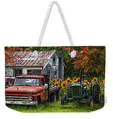 Best Friends Weekender Tote Bag by Debra and Dave Vanderlaan