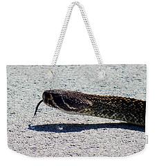 Beware Of Me Weekender Tote Bag by Karen Wiles