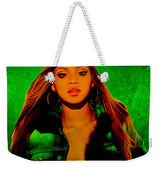 Beyonce II Weekender Tote Bag by Brian Reaves