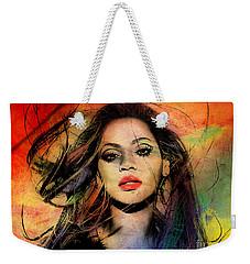 Beyonce Weekender Tote Bag by Mark Ashkenazi