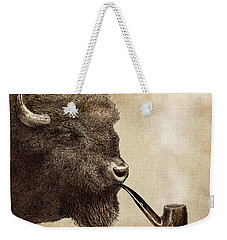 Big Smoke Weekender Tote Bag by Eric Fan