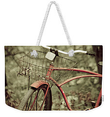 Bike Weekender Tote Bag by Shane Holsclaw