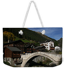 Weekender Tote Bag featuring the photograph Binn by Travel Pics