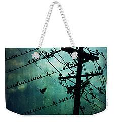 Bird City Weekender Tote Bag by Trish Mistric