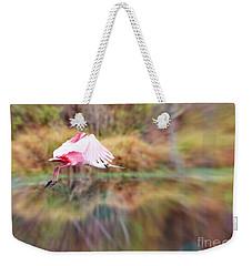 Birds Eye View Weekender Tote Bag by Carol Groenen