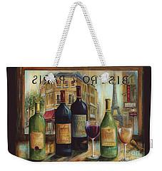 Bistro De Paris Weekender Tote Bag by Marilyn Dunlap