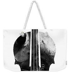 Black And White Violin Art By Sharon Cummings Weekender Tote Bag by Sharon Cummings