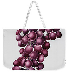 Black Grapes Weekender Tote Bag by Sally Crosthwaite