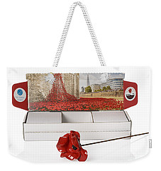 Blood Swept Lands And Seas Of Red Weekender Tote Bag by Amanda Elwell