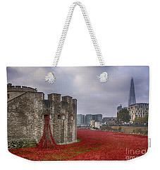 Blood Swept Lands Weekender Tote Bag by Chris Thaxter