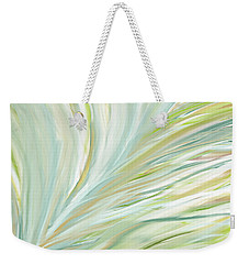 Blooming Grass Weekender Tote Bag by Lourry Legarde