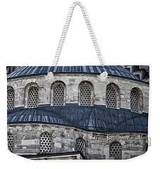 Blue Dawn Blue Mosque Weekender Tote Bag by Joan Carroll