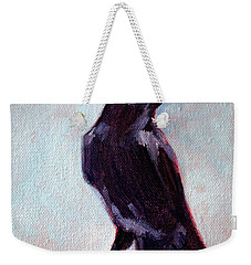 Blue Raven Weekender Tote Bag by Nancy Merkle