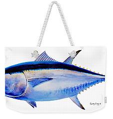 Bluefin Tuna Weekender Tote Bag by Carey Chen