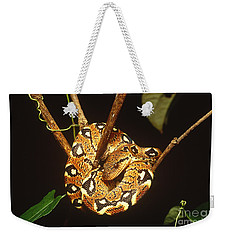 Boa Constrictor Weekender Tote Bag by Art Wolfe