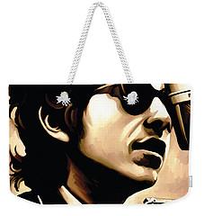 Bob Dylan Artwork 3 Weekender Tote Bag by Sheraz A