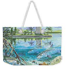 Boca Chita In0026 Weekender Tote Bag by Carey Chen
