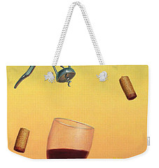 Body And Soul Weekender Tote Bag by James W Johnson