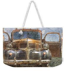 Bonnie And Clyde Weekender Tote Bag by Debra and Dave Vanderlaan