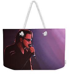 Bono U2 Weekender Tote Bag by Paul Meijering