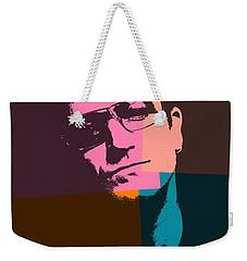 Bono Pop Art Weekender Tote Bag by Dan Sproul