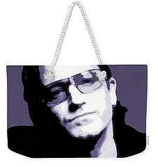 Bono Portrait Weekender Tote Bag by Dan Sproul