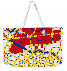 Boogie Woogie Berlin Weekender Tote Bag by Chungkong Art