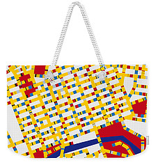 Boogie Woogie Melbourne Weekender Tote Bag by Chungkong Art