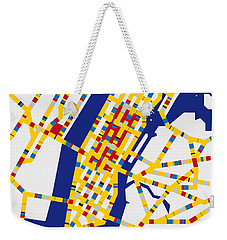 Boogie Woogie New York Weekender Tote Bag by Chungkong Art