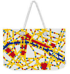 Boogie Woogie Paris Weekender Tote Bag by Chungkong Art