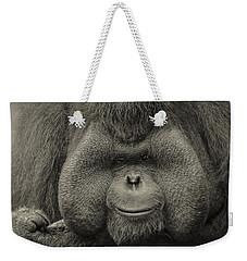 Bornean Orangutan II Weekender Tote Bag by Lourry Legarde