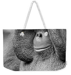 Bornean Orangutan V Weekender Tote Bag by Lourry Legarde