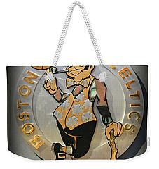 Boston Celtics Weekender Tote Bag by Stephen Stookey