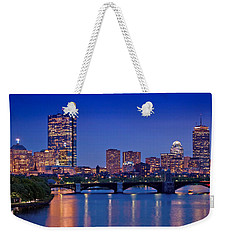 Boston Nights 2 Weekender Tote Bag by Joann Vitali