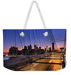 Bound For Greatness Weekender Tote Bag by Evelina Kremsdorf