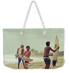 Boys Of Summer Weekender Tote Bag by Laura Fasulo