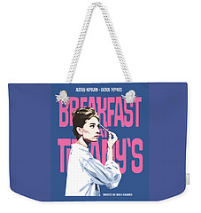 Breakfast At Tiffany's Weekender Tote Bag by Douglas Simonson