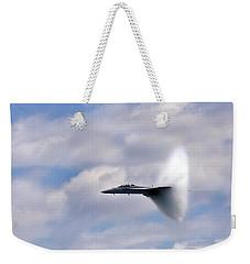 Breaking Through Weekender Tote Bag by Adam Romanowicz