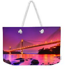 Bridge To Dream Weekender Tote Bag by Midori Chan