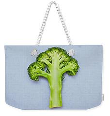 Broccoli Weekender Tote Bag by Tom Gowanlock