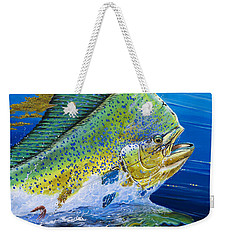 Bull Reflection Off0032 Weekender Tote Bag by Carey Chen