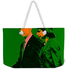 Bush And Rice Weekender Tote Bag by Brian Reaves