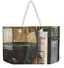 Cabernet Sauvignon Weekender Tote Bag by Debbie DeWitt