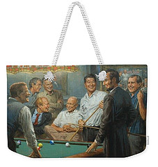 Callin The Blue Weekender Tote Bag by Andy Thomas