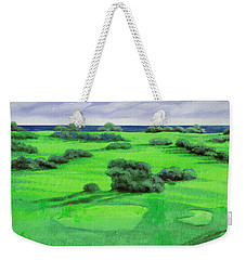 Campo Da Golf Weekender Tote Bag by Guido Borelli