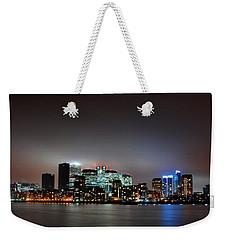 London Skyline Weekender Tote Bag by Mark Rogan