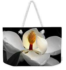Candle In The Wind Weekender Tote Bag by Karen Wiles