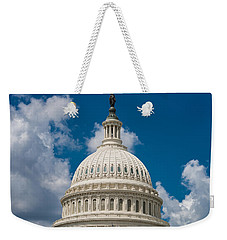 Capital Dome Washington D C Weekender Tote Bag by Steve Gadomski